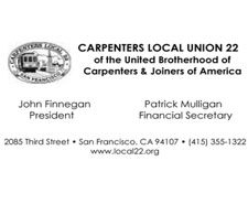 Carpenters and Joiners Local 22